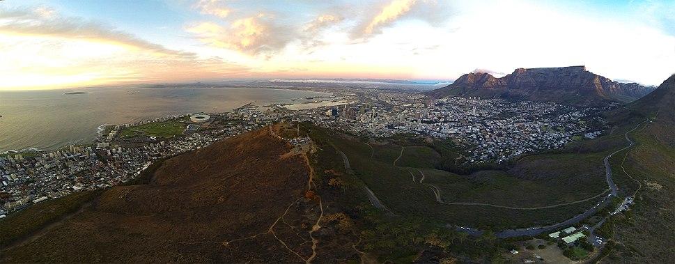 Cape Town City Aerial