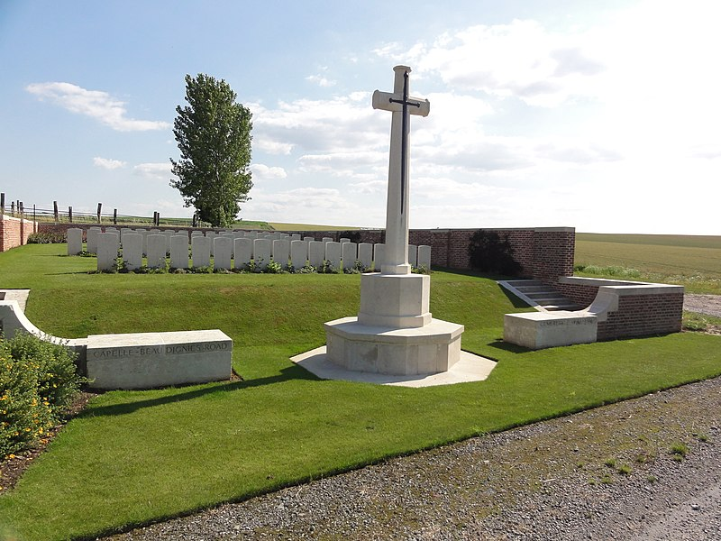 Capelle (Nord, Fr)  Capelle-Beaudignies Road cemetery 1918-1919 CWGC