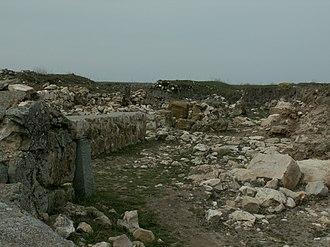 Capidava - Image: Capidava Ruins 1