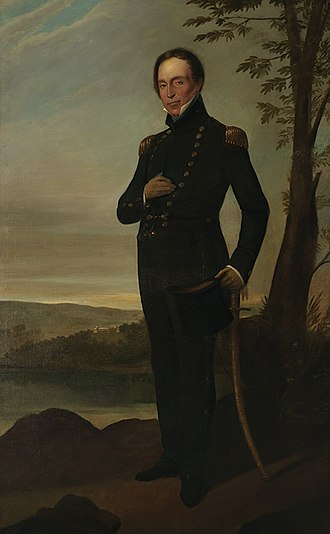 John Piper (military officer) - Captain John Piper, c.1826, oil painting by Augustus Earle
