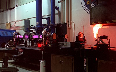 Carbon Dioxide Laser At The Laser Effects Test Facility.jpg