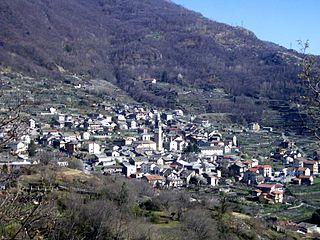 Carema Comune in Piedmont, Italy