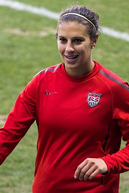 Carli Lloyd American association football player