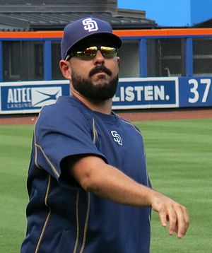 Carlos Villanueva (baseball) - Villanueva with the Padres in 2016