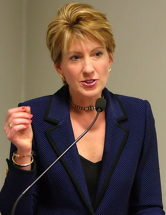United States Senate election in California, 2010 - Image: Carly Fiorina in Sao Paulo, Brazil 2004
