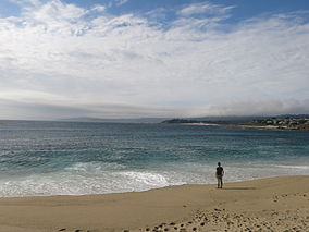 Carmel river state beach open seven am to ten pm.JPG