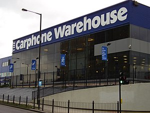 Carphone Warehouse - Carphone Warehouse Support Centre in Acton, London