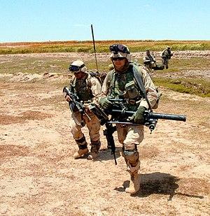 M224 mortar - Image: Carrying M224