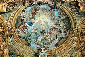 Cartuja de Granada Cupula del Sagrario