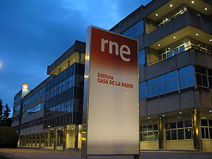 RTVE - RNE's headquarters, Casa de la Radio (Radio's house) in Pozuelo (Madrid).