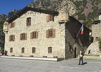 Casa de la Vall - Image: Casa de la Vall 2015 10