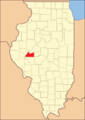 Cass County Illinois 1845.png