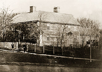 Ethan Allen - The Catamount Tavern, late in the 19th century