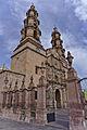 Catedral de Aguascalientes entrada lateral al atrio.jpg
