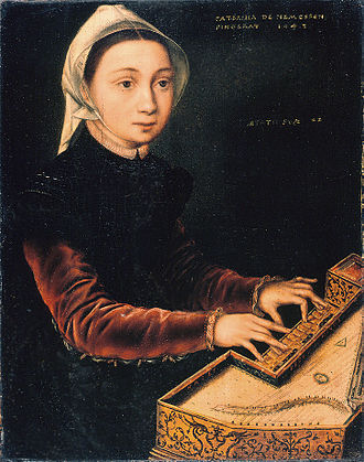Catharina van Hemessen - Image: Catharina van Hemessen Girl at the Virginal