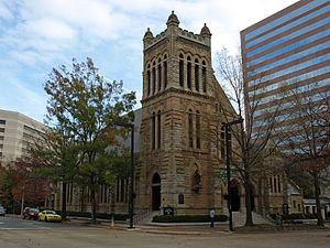 Episcopal Diocese of Alabama - The Cathedral Church of the Advent in Birmingham. It serves as the cathedral for the Diocese of Alabama.  The building was completed in 1883.
