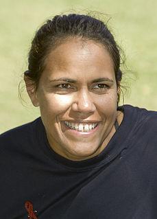 Cathy Freeman Australian athlete and Olympic gold medalist (born 1973)