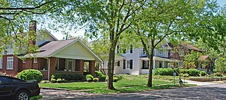 National Register of Historic Places listings in Bradley County, Tennessee - Image: Centenary Avenue Historic District Cleveland TN A