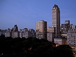 Central Park view from hotel evening (4668843373).jpg