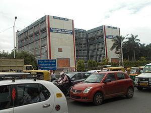 Silk Board junction - Complex of the Central Silk Board office