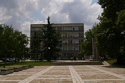 Central square in the town.JPG