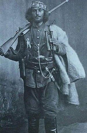 Çerçiz Topulli - Çerçiz Topulli in a rare photo