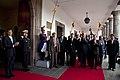 Ceremonia de colocación de ofrenda floral por parte del Presidente de Haití Michel Martelly (7553139944).jpg