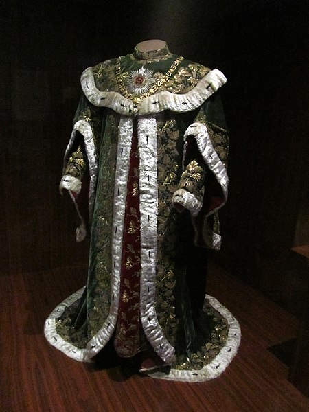 File:Ceremonial robes of a knight of the Hungarian Order of St Stephen (Vienna, c. 1764) (6363249549).jpg