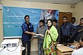 Certificate given in Bangla Wikipedia Editors' Assembly at CIU (01).jpg