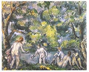 Six baigneuses; Les Ondines