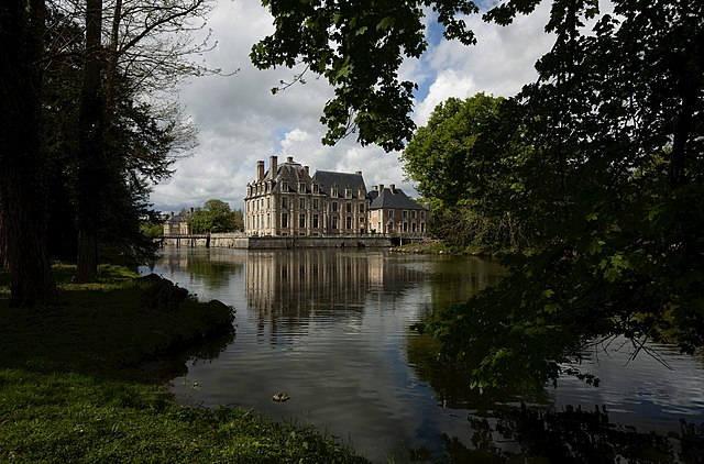 Castle of La Ferté in La Ferté-Saint-Aubin