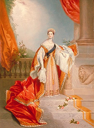 Alfred Edward Chalon - Chalon's portrait of Queen Victoria