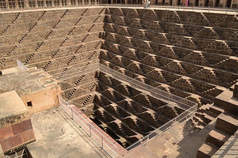 Chand Baori (step-well)