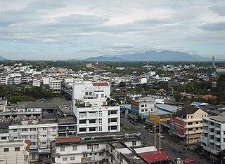 Chanthaburi Town in Chanthaburi Province, Thailand