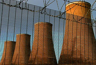 Chapelcross nuclear power station - November 2005