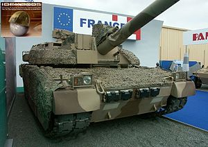 Armed Forces of UAE - UAE French built Leclerc tank.