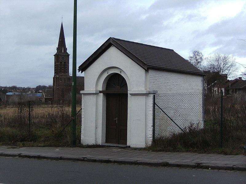 Charleroi (Belgique) - Broucheterre - chapelle Sainte-Barbe, rue de la Broucheterre