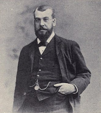 Charles Cruft (showman) - A photograph of Charles Cruft, published in 1902