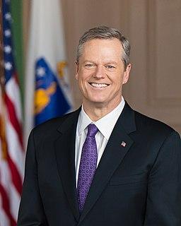 Charlie Baker 72nd governor of Massachusetts