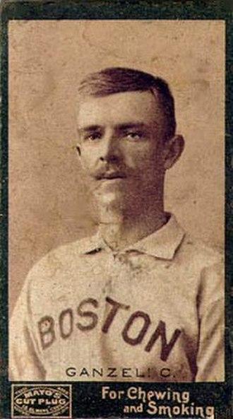 Charlie Ganzel - 1895 Mayo Cut Plug (N300) Baseball Card