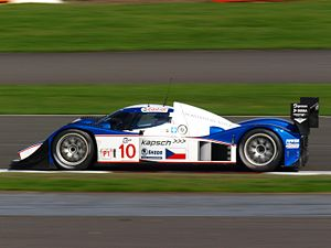 Lola B08/60 - A B08/60 at the 2008 1000 km of Silverstone