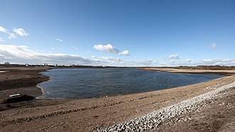 Chasewater - The main body of the reservoir in February 2012