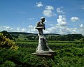 Chatsworth House - Garden Statue - geograph.org.uk - 356730.jpg