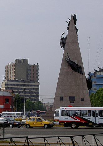 Jorge Chávez - Image: Chavez Lima Monument