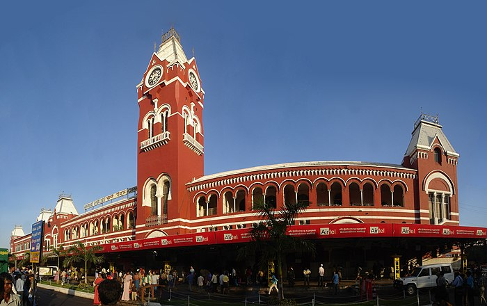 Madras most famous landmark. I still havent seen a complete photograph of it