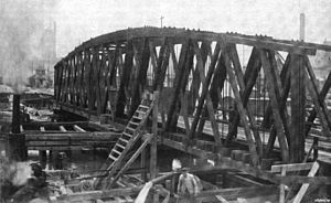 Cherry Avenue Bridge - Previous bridge prior to demolition