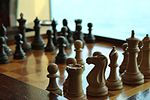 Chess board and pieces at Colony Club aboard Radiance Of The Seas.jpg