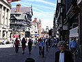 Chester - Eastgate Street and Eastgate clock - geograph.org.uk - 1166905.jpg