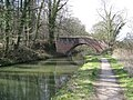 Chesterfield Canal - Approaching Bridge No 34 (Pudding Dike Bridge) - geograph.org.uk - 747799.jpg