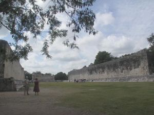 Maya architecture - Great Ballcourt at Chichen Itza